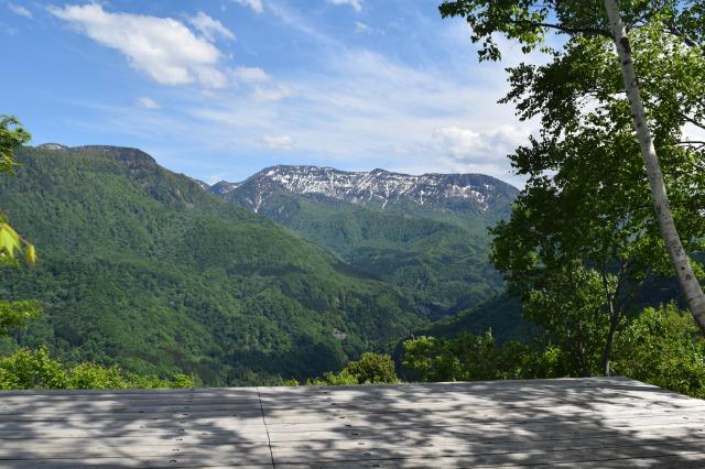 山の展望台